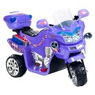 Lil' Rider FX Wheel 6V Battery Powered Motorcycle - Purple