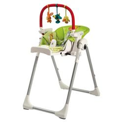 Ciao baby ohio state buckeyes portable highchair in red - Chaise haute peg perego siesta ...