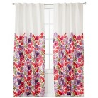 """Boho Boutique™ Garden Lined Curtain Panel - Floral (42x84"""")"""