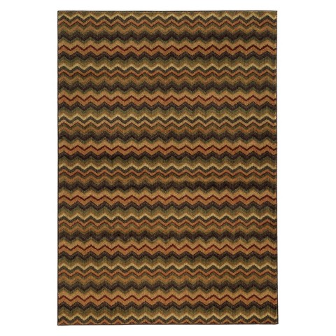 Chevron Striped Area Rug