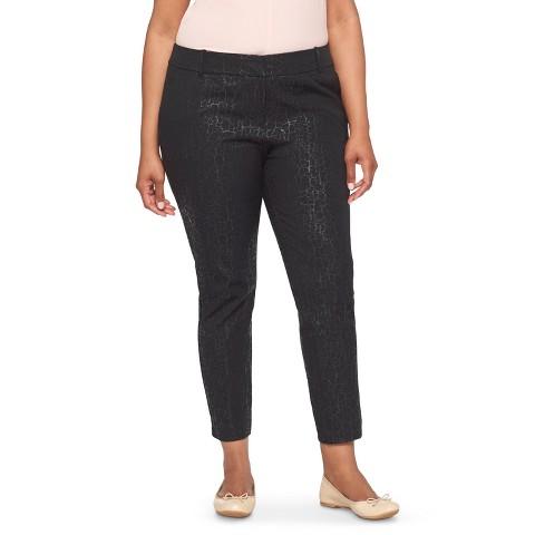 women s plus size black khakis images