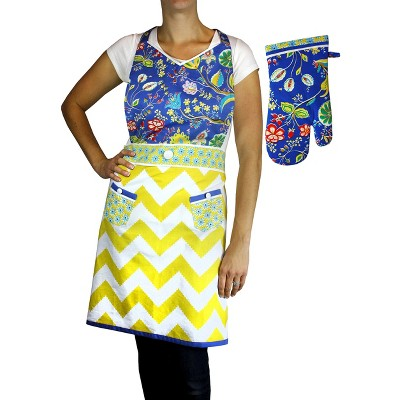 Apron and Oven Mitt Set - Bella