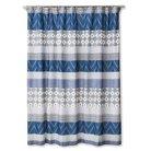 Mudhut™ Dhurrie Tie Dye Shower Curtain