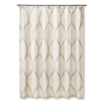 Mudhut™ Ogee Tie Dye Shower Curtain