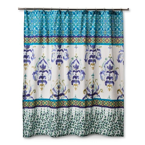 Boho Shower Curtain Uk Turquoise Beaded Curtains The