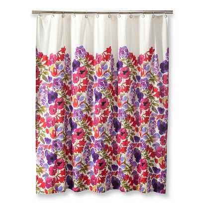 boho boutique boho garden shower curtain target