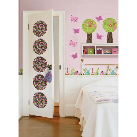 Wallpops dilly dally room d cor kit multicolor target for Room decor target