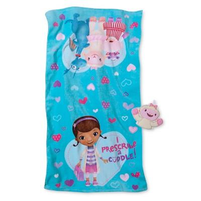 Disney® Doc McStuffins Cuddle Bath Towel/Wash Mitt Set - Tropical Teal