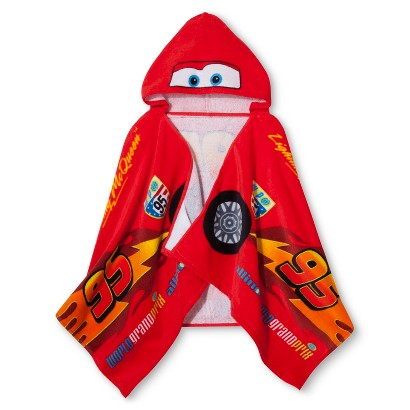 Disney® Cars Tune Up Hooded Towel - Red