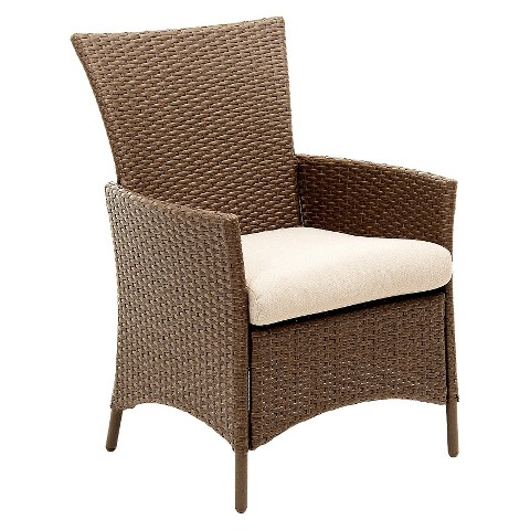 Lonsdale 6 Piece Wicker Patio Dining Chair Set Tar