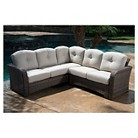 Bali 2-Piece Wicker Sectional Patio Seating Set