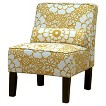 Seedling by Thomas Paul Slipper Chair - Fiesta Yellow