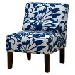 Seedling by Thomas Paul Slipper Chair - Copenhagen Blue