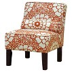 Seedling by Thomas Paul Slipper Chair - Fiesta Orange