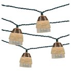 UL 10ct Indoor/Outdoor String Light- Plastic Iridescent Cover With Rope - Threshold™
