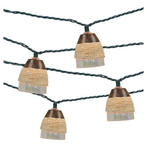 Ul 10ct indoor outdoor string light plastic iri target