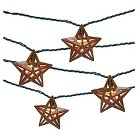 UL 10 count Indoor/Outdoor String Light - Metal Star Cover - Threshold™