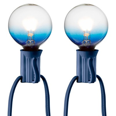 25ct Clear Globe String Lights - Blue String - Room Essentials™