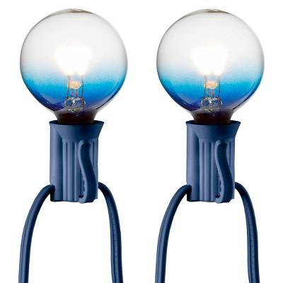 25ct Clear Globe String Lights - Blue String - Room Essentials™