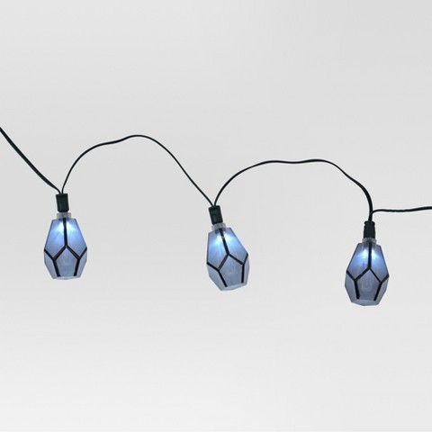 Solar String Lights Target : Solar Diamond String Lights (20ct) - Threshold : Target