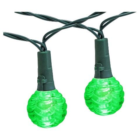 30Lt Green Solar Globe Lights - Room Essentials : Target