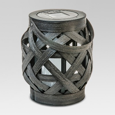 Criss - Cross Weave Lantern - Small - Threshold™