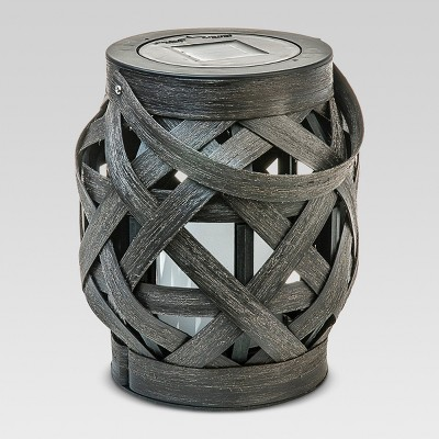 Criss - Cross Weave Lantern - Medium - Threshold™