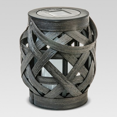 Criss - Cross Weave Lantern - Large - Threshold™