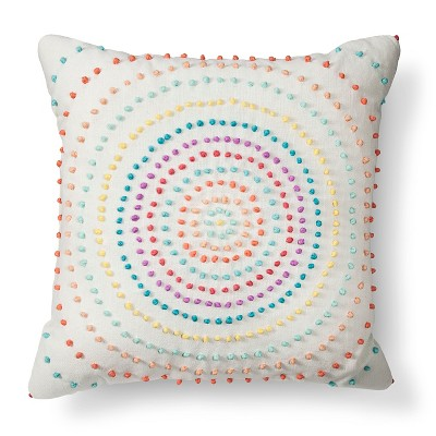 Texture Knot Circle Decorative Pillow - Xhilaration™