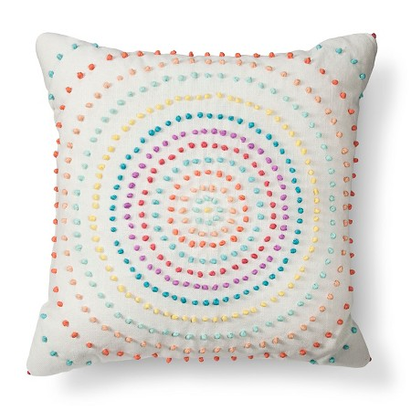 Decorative Pillowcases Target : Texture Knot Circle Decorative Pillow - Xhilaration : Target