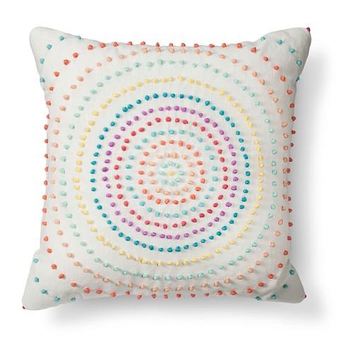 Xhilaration texture knot circle decorative pillow target Xhilaration home decor