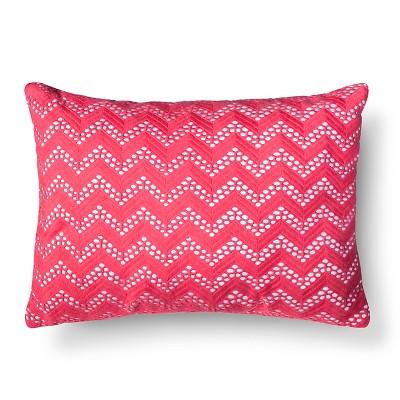 Xhilaration™ Chevron Net Decorative Pillow