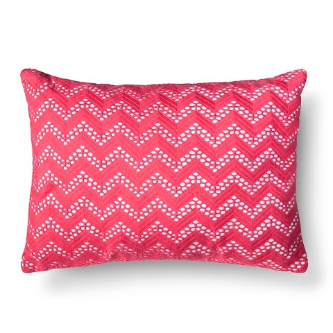 Decorative Pillows For Couch Target : Xhilaration Chevron Net Decorative Pillow : Target