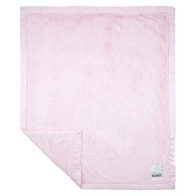 LOVE Posh Silky Blanket Giraffe - Pink