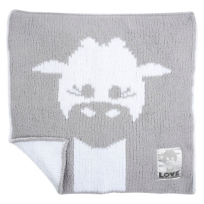 LOVE Cloud Knit Giraffe Blanky - Silver