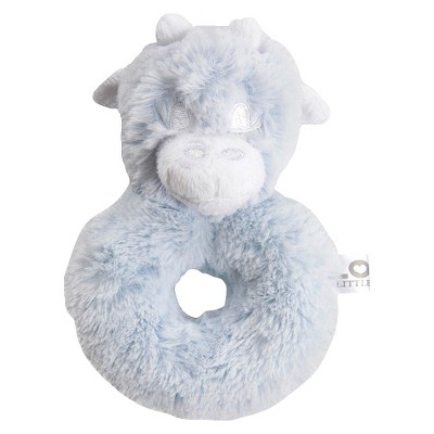 LOVE Posh Rattle Giraffe - Blue
