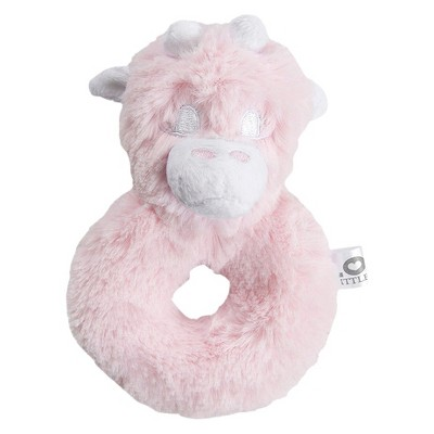 LOVE Posh Rattle Giraffe - Pink