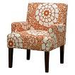 Seedling by Thomas Paul Arm Chair - Fiesta Orange