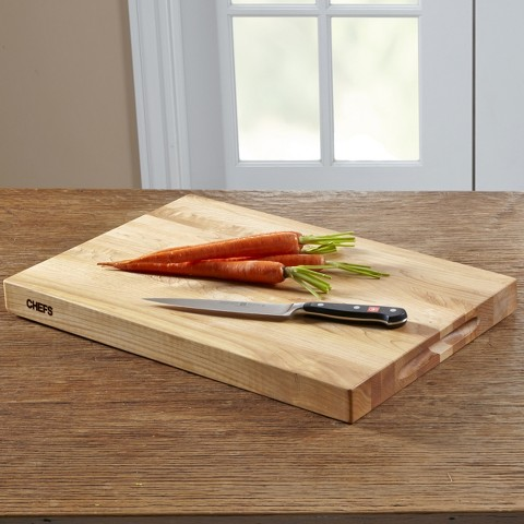 Chefs 18x12 Cutting Board Maple Target