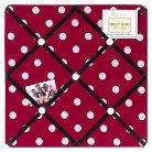 Sweet Jojo Designs Polka Dot Ladybug Photo Memo Board - Red-Black-White