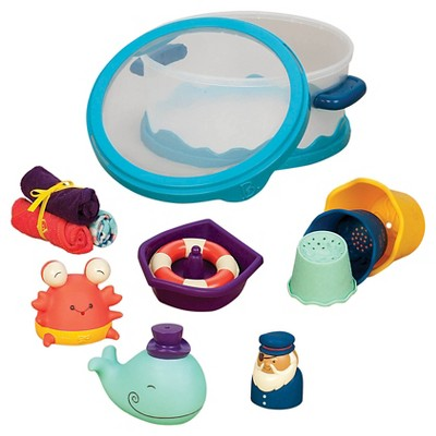 Baby B. Wee B. Splashy Bath Playset