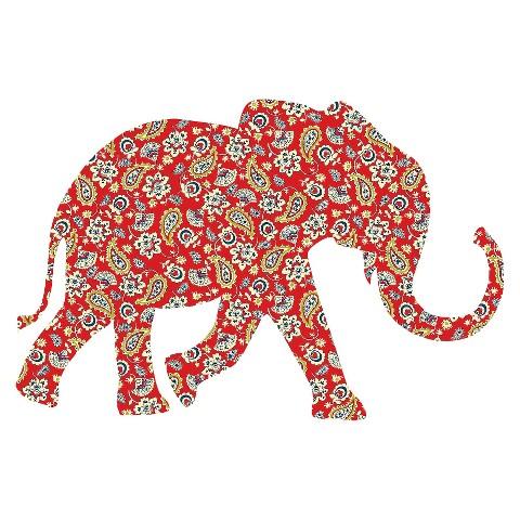 Wallpops Zoowallogy Mabuza The Elephant Ginorm Target