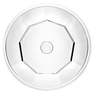 """Gorham Sutherton Crystal Platter (13"""")"""