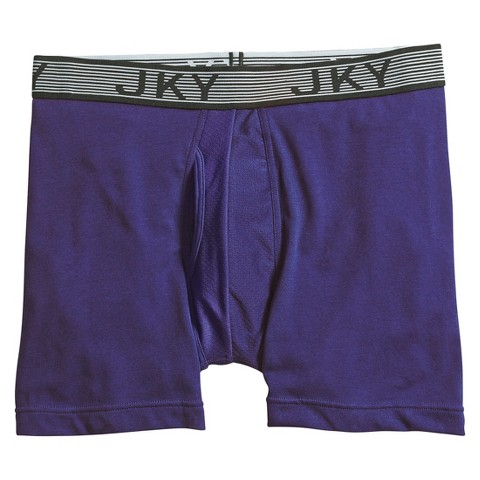 JKY® by Jockey Men's 1-Pack Sport Cotton Plaited Boxer Briefs