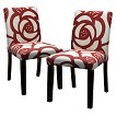 Seedling by Thomas Paul Uptown Dining Chair - Dec Rose Red (Set of 2)