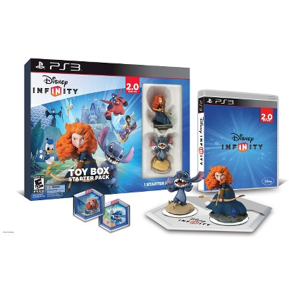 Disney Infinity: Toy Box Starter Pack 2.0 Edition (PlayStation 3)