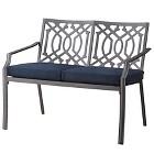 Harper Metal Patio Garden Bench with Cushions - Threshold™