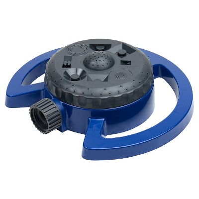 RE Blue Turret Sprinkler
