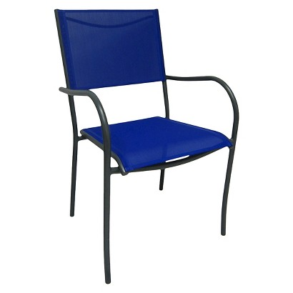 Room Essentials Stack Sling Chair Blue Target