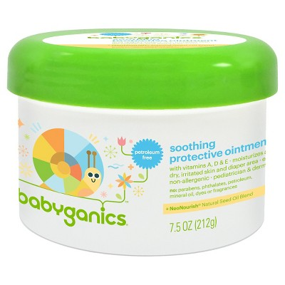 Babyganics Non-Petroleum Soothing Protective Ointment - 7.5oz Bottle